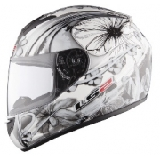 LS2 FF351 Stardust Helmet White